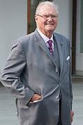 Staatsbezoek Denemarken - Dag 1. Aankomst van het Koninklijk gezelschap op vliegveld Kastrup<br /> <br /> State visit Denmark - Day 1. Arrival of the Royal Family at Kastrup airport<br /> <br /> op de foto / On the photo: Prins Henrik