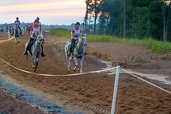 Amacher Andrea, SUI, Rustik D'Alsace, Bechter Sandra, SUI, Ultrachik de Becherel<br /> World Equestrian Games - Tryon 2018<br /> © Hippo Foto - Dirk Caremans<br /> 12/09/2018