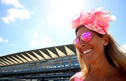 Racegoer Samira Parkinson Smith during day four of Royal Ascot at Ascot Racecourse.