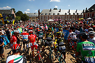 Scenery, illustration Start during the 105th Tour de France 2018, Stage 9, Arras Citadelle - Roubaix (156,5km) on July 15th, 2018 - Photo Lucas Bettini / BettiniPhoto / ProSportsImages / DPPI