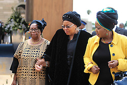 60818555  <br /> Former South African President Nelson Mandela's wife Graca Machel (C) leaves after respecting at his coffin at the Union Buildings in Pretoria, South Africa, on Dec. 11, 2013. Thousands of South Africans on Wednesday thronged to the Union Buildings in Pretoria where the body of former South African president Nelson Mandela will lie in state for three days, Wednesday, 11th December 2013. Picture by  imago / i-Images<br /> UK ONLY
