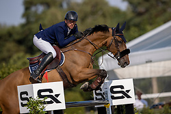 Doem Arnaud, BEL, Edgar de Prefontaine<br /> Belgisch Kampioenschap Jumping  <br /> Lanaken 2020<br /> © Hippo Foto - Dirk Caremans<br /> 02/09/2020