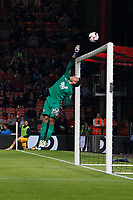 Football - 2016 / 2017 League Cup - Round 3: AFC Bournemouth vs. Preston North End<br /> <br /> Chris Maxwell of Preston tips over a deflected shot at Dean Court (The Vitality Stadium) Bournemouth<br /> <br /> Colorsport/Shaun Boggust