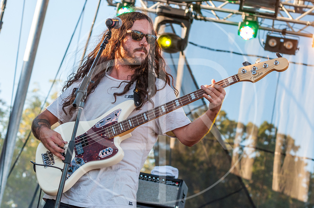 BALTIMORE United States - September 27, 2014: J Roddy Walston and The Business, perform at The Shindig, in Baltimore's historic Carroll Park