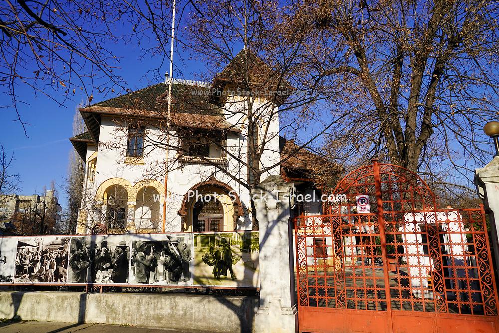 Post war architecture in Ioanid Park, Bucharest, Romania.
