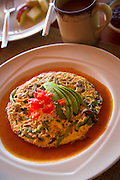 Frittata, Breakfast, Mexican food, Club Intrawest, Playa La Ropa, Zihuataneo, Guerrero, MexicoClub Intrawest, Playa La Ropa, Zihuataneo, Guerrero, Mexico