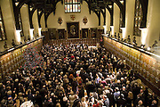 CAROLE STONE PARTY.Middle Temple Hall. Middle Temple Lane. London EC4. -DO NOT ARCHIVE-© Copyright Photograph by Dafydd Jones. 248 Clapham Rd. London SW9 0PZ. Tel 0207 820 0771. www.dafjones.com.