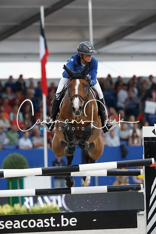 Leprevost Penelope, (FRA), Nice Stephanie<br /> Prix Ghelamco<br /> Knokke Hippique 2015<br /> © Hippo Foto - Dirk Caremans<br /> 26/06/15