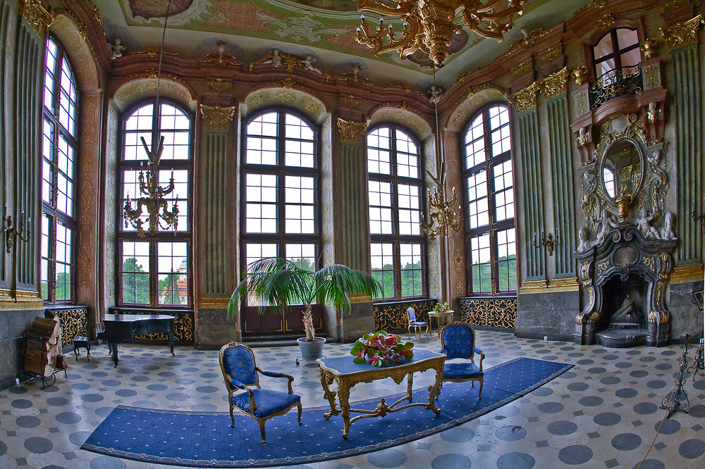 Zamek Książ - sala Maksymiliana, Polska<br /> Książ Castle - Maksymilian's room, Poland