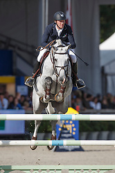 Bruynseels Niels (BEL) - Cantario<br /> Final 7 years<br /> FEI World Breeding Jumping Championships for Young Horses - Lanaken 2014<br /> © Dirk Caremans