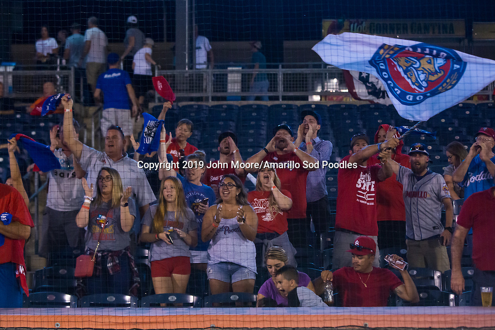 The Amarillo Sod Poodles played against the Tulsa Drillers during the Texas League Championship on Saturday, Sept. 14, 2019, at OneOK Field in Tulsa, Oklahoma. [Photo by John Moore/Amarillo Sod Poodles]