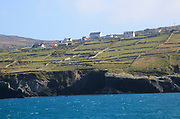 Scattered settlement on west coast Cape Clear Ireland, County Cork, Ireland, Irish Republic
