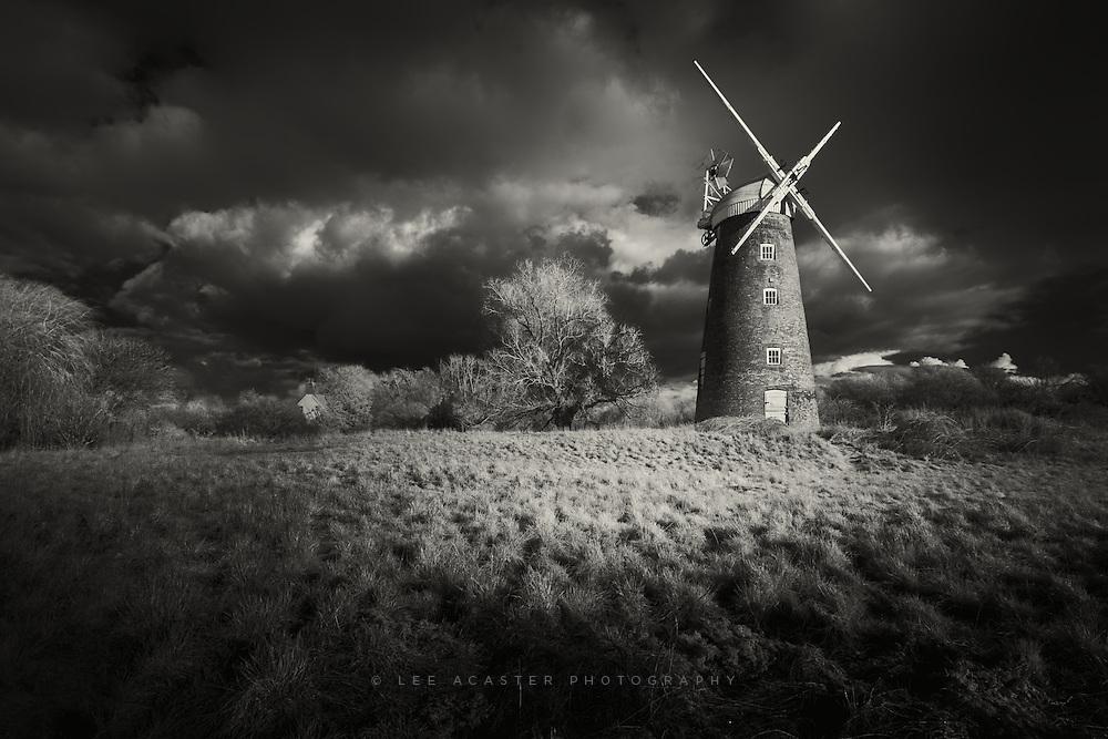 Billingsford Mill on the Norfolk/Suffolk border