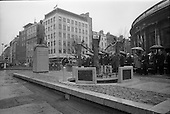 1966 - Unveiling of Thomas Davis Memorial at College Green, Dublin