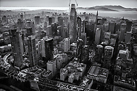Downtown San Francisco II (monochrome)