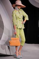 Yevgeniya walks the runway  at the Christian Dior Cruise Collection 2008 Fashion Show