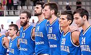 DESCRIZIONE : Trento Nazionale Italia Uomini Trentino Basket Cup Italia Olanda Italy Holland<br /> GIOCATORE : team italia<br /> CATEGORIA : pregame<br /> SQUADRA : Italia Italy<br /> EVENTO : Trentino Basket Cup<br /> GARA : Italia Olanda Italy Holland<br /> DATA : 11/07/2014<br /> SPORT : Pallacanestro<br /> AUTORE : Agenzia Ciamillo-Castoria/R.Morgano<br /> Galleria : FIP Nazionali 2014<br /> Fotonotizia : Trento Nazionale Italia Uomini Trentino Basket Cup Italia Olanda Italy Holland