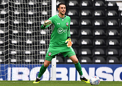 "Southampton goalkeeper Alex McCarthy during a pre season friendly match at Pride Park, Derby. PRESS ASSOCIATION Photo. Picture date: Saturday July 21, 2018. Photo credit should read: Anthony Devlin/PA Wire. EDITORIAL USE ONLY No use with unauthorised audio, video, data, fixture lists, club/league logos or ""live"" services. Online in-match use limited to 75 images, no video emulation. No use in betting, games or single club/league/player publications."