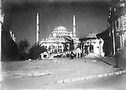Fatih Mosque Istanbul at the turn of the 19th century