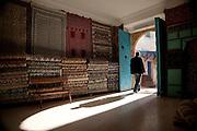 Carpet store, Tunis