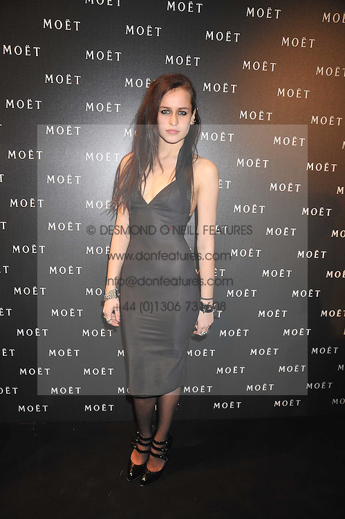 ALICE DELLAL at the Moet & Chandon Tribute to Cinema party held at the Big Sky Studios, Brewery Road, London N7 on 24th March 2009.