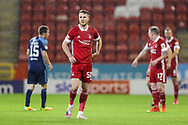 Aberdeen forward Marley Watkins (50)uring the Scottish Premiership match between Aberdeen and Hamilton Academical FC at Pittodrie Stadium, Aberdeen, Scotland on 20 October 2020.