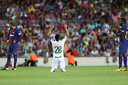 August 7, 2017 - Barcelona, Spain - XXXX of FC Barcelona and XXXX of Chapecoense during the 2017 Joan Gamper Trophy football match between FC Barcelona and Chapecoense on August 7, 2017 at Camp Nou stadium in Barcelona, Spain. (Credit Image: © Manuel Blondeau via ZUMA Wire)