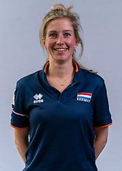 Sanne van der Linden, Photoshoot selection of Orange men's volleybal team season 2021on may 11, 2021 in Arnhem, Netherlands (Photo by RHF Agency/Ronald Hoogendoorn)