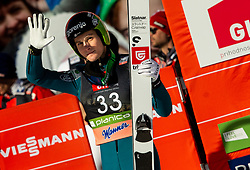 Domen Prevc (SLO) celebrates during the 2nd Round of the Ski Flying Hill Individual Competition at Day 2 of FIS Ski Jumping World Cup Final 2019, on March 22, 2019 in Planica, Slovenia. Photo by Vid Ponikvar / Sportida
