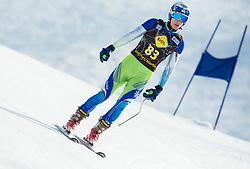 SPILAR Zan  of Slovenia during Men's Super Combined Slovenian National Championship 2014, on April 1, 2014 in Krvavec, Slovenia. Photo by Vid Ponikvar / Sportida