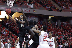 20 March 2017:  Nick Banyard during a College NIT (National Invitational Tournament) 2nd round mens basketball game between the UCF (University of Central Florida) Knights and Illinois State Redbirds in  Redbird Arena, Normal IL