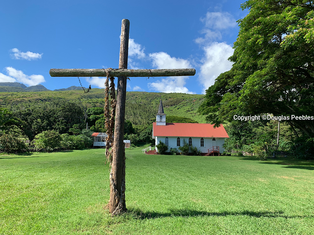 Father Damien, Our Lady of Sorrows Church, 1874, Molokai, Hawaii