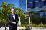 Bob Livengood Poses for a portrait for his political campaign for Water District in Milpitas, California, on June 27, 2020. (Stan Olszewski/SOSKIphoto)