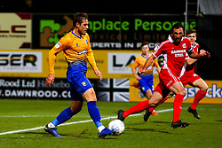 Timi Max Elsnik of Mansfield Town shoots - Mandatory by-line: Ryan Crockett/JMP - 13/11/2018 - FOOTBALL - One Call Stadium - Mansfield, England - Mansfield Town v Scunthorpe United - Checkatrade Trophy