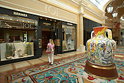 Shopping at the Bellagio Hotel.Las Vegas, Nevada