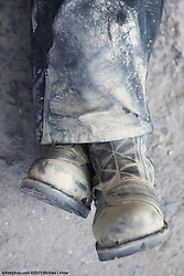 Boots. On the road to Pokhara, Nepal. 2019<br /> <br /> Limited Edition Print from an edition of 20. Photo ©20190 Michael Lichter.