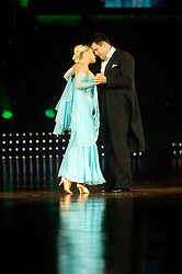 Kenny Logan and Ola Jordan dance during the Strictly Come Dancing live show at Sheffield Arena 29 January 2009 © Paul David Drabble