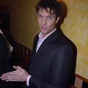 Uitreiking populariteitsprijs 2002, Bas Muijs