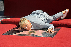 Ellen DeGeneres. 4 September 2012, Hollywood, California. Ellen DeGeneres Honored With Star On The Hollywood Walk Of Fame. Photo Credit: Giulio Marcocchi/Sipa USA.