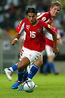 Lisbona 23/6/2004 <br />Germany Czech Republic<br />Milan Baros of Czech Republic, match winner<br />Milan Baros autore del gol vittoria<br />Photo Andrea Staccioli Graffiti