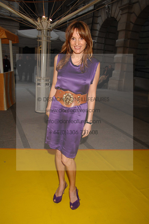 EMILY OPPENHEIMER-TURNER at the Royal Academy of Arts Summer Exhibition Party at the Royal Academy, Piccadilly, London on 6th June 2007.<br /><br />NON EXCLUSIVE - WORLD RIGHTS