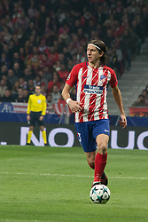 November 22, 2017 - Madrid, Madrid, Spain - Filipe Luis..during Atletico de Madrid won by 2 to 0 whit goals of Griezmann and Gameiro against Roma. (Credit Image: © Jorge Gonzalez/Pacific Press via ZUMA Wire)