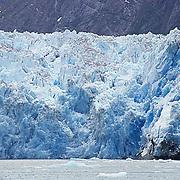 Sawyer Glacier in Tracy arm Southeast Alaska.