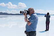 South America, Andes, Altiplano, Bolivia, Salar de Uyuni