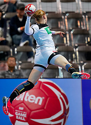 08-12-2019 JAP: Netherlands - Germany, Kumamoto<br /> First match Main Round Group1 at 24th IHF Women's Handball World Championship, Netherlands lost the first match against Germany with 23-25. / Meike Schmelzer #7 of Germany