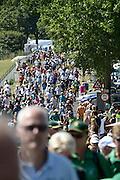 Nederland, Groesbeek, 18-7-20134 Daagse, Dag van Groesbeek, Zevenheuvelenweg. De vierdaagse is het grootste wandelevenement ter wereld. De bergetappe.Foto: Flip Franssen/Hollandse Hoogte