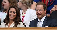 Duke and Duchess of Cambridge at Wimbledon 4-7-12