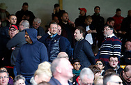 Sheffield Utd Directors watch with the fans during the English League One match at Vale Park Stadium, Port Vale. Picture date: April 14th 2017. Pic credit should read: Simon Bellis/Sportimage