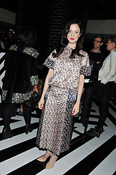 ANDREA RISEBOROUGH at the InStyle Best of British Talent Event in association with Lancôme and Avenue 32 held at The Rooftop Restaurant, Shoreditch House, Ebor Street, London E1 on 30th January 2013.