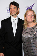 """J. Robert Spencer and Tai Burkholder at The American Theater Wing's Annual Spring Gala Honoring Jerry Herman and Visa INC...The American Theatre Wing is best known as the creator of the Antoinette Perry """"Tony"""" Awards, which it presents annually with the Brodway League. The Wing's other activities, dedicated to recognizing excellence and supporting eductaion in theatre."""